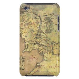 中間の地球の地図 Case-Mate iPod TOUCH ケース