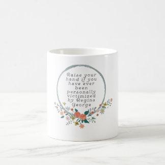 中間の女の子の引用文-レジーナジョージ コーヒーマグカップ