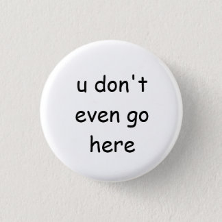 中間の女の子ボタン 缶バッジ