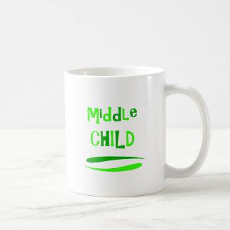 中間の子供 コーヒーマグカップ
