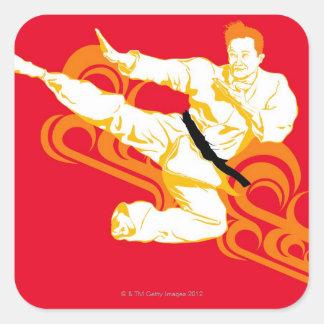 中間空気を行う練習の武道に人を配置して下さい スクエアシール