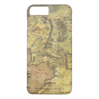 中間EARTH™ #2の地図 iPhone 8 PLUS/7 PLUSケース