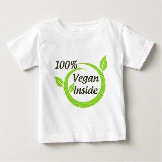 中100%年のビーガン ベビーTシャツ