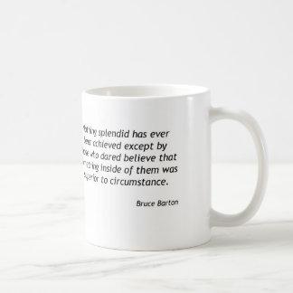 中-ブルースバートン何か コーヒーマグカップ