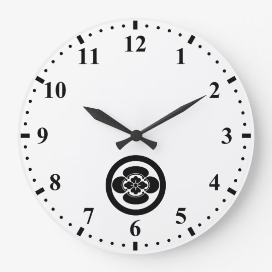 丸に木瓜 時計