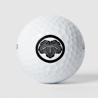 丸に蔦 ゴルフボール