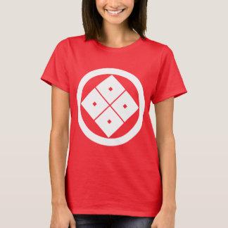 丸に隅立て四つ目 Tシャツ
