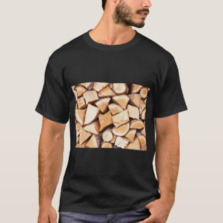 丸太 Tシャツ
