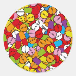 丸薬の多く ラウンドシール