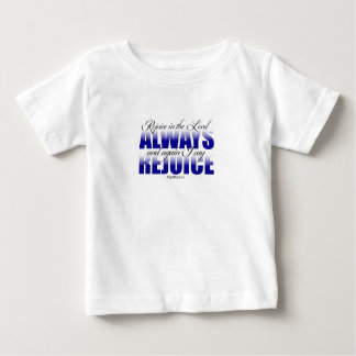 主でAlways喜ばせて下さい ベビーTシャツ