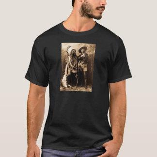 主なシッティングブルおよびバッファロービル1895年 Tシャツ