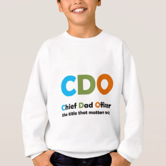 主なパパの役人 スウェットシャツ