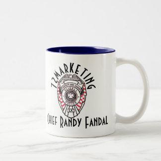 主なランディFandal 72marketing 2はコーヒーカップにある調子を与えます ツートーンマグカップ