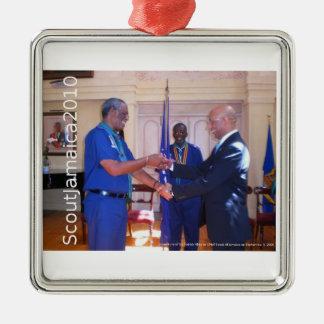 主な偵察者の叙任2009年 シルバーカラー正方形オーナメント
