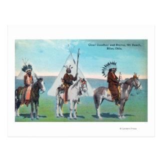 主なGoodboyおよびブレーブスの101の牧場眺め ポストカード