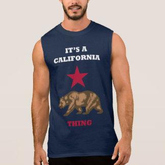 主なLAそれはカリフォルニア事袖なしタンクです 袖なしシャツ