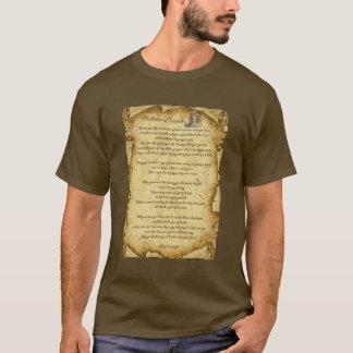 主なTecumsehのネイティブアメリカンの知恵 Tシャツ