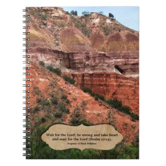 主のためのScripture Southwest Personalized待ち時間 ノートブック