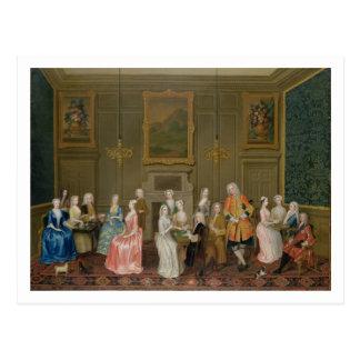 主ののHarrington's Houseお茶会、セントジェームズ ポストカード
