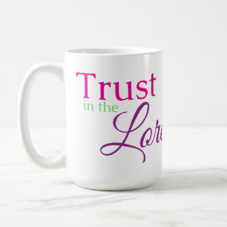 主の信頼 コーヒーマグカップ