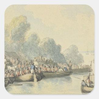 主の後の6月20日のサウサンプトンの乗船 スクエアシール