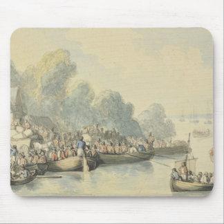 主の後の6月20日のサウサンプトンの乗船 マウスパッド