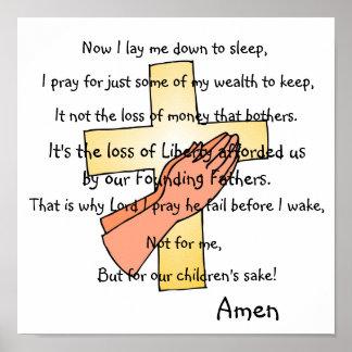 主の祈りの言葉 ポスター