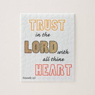 主の諺の聖なる書物、経典の信頼 ジグソーパズル