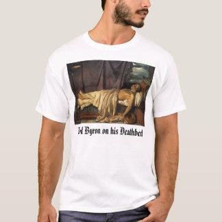 主のByronのByron彼の臨終の主死 Tシャツ