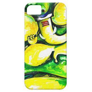 主のGaneshaハンドメイドの抽象的な絵画 iPhone SE/5/5s ケース