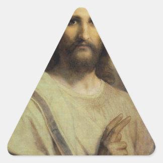 主のImage -ハインリッヒHofmann 三角形シール