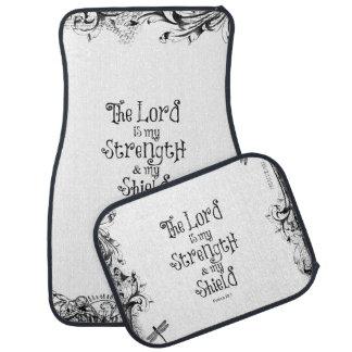 主は私の強さの聖書の詩です カーマット