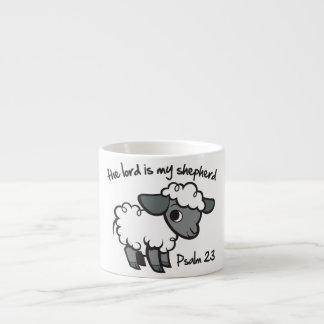 主は私の羊飼いです エスプレッソカップ