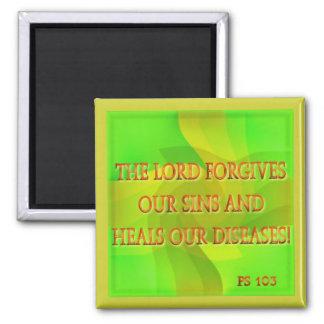 主は私達の罪を…許します マグネット