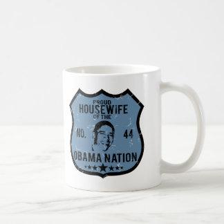 主婦のオバマの国家 コーヒーマグカップ