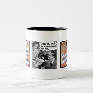 主婦のマグ ツートーンマグカップ