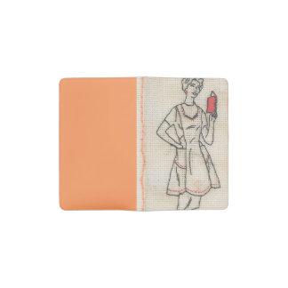 主婦の刺繍の小型ノート ポケットMoleskineノートブック