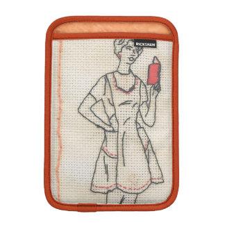 主婦の刺繍のiPadの小型袖 iPad Miniスリーブ