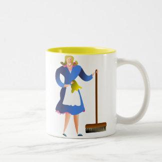 主婦 ツートーンマグカップ