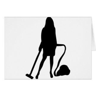主婦-掃除機-クリーニング カード