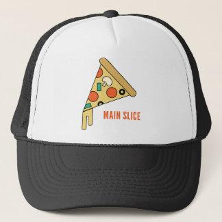 主要な切れピザワイシャツ キャップ