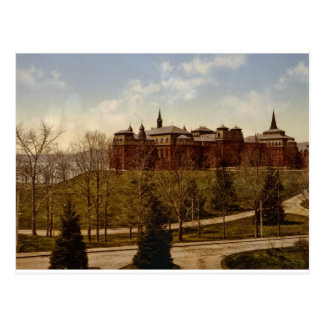 主要な建物、ウェルズリー大学1901年 ポストカード