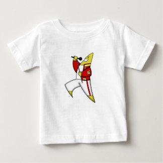 主要な歌う星のcafepress ベビーTシャツ