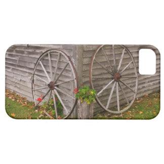 主要な米国。 荷馬車の車輪 iPhone SE/5/5s ケース