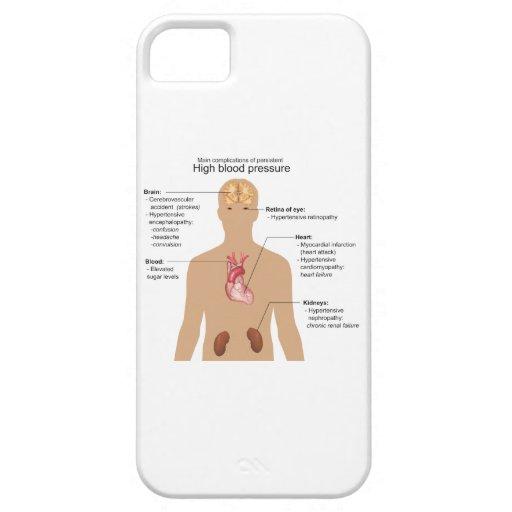 主要|複雑化|高い|血|圧力|図表 iPhone 5 ケース
