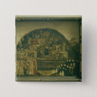 主1569年のブドウ園 5.1CM 正方形バッジ