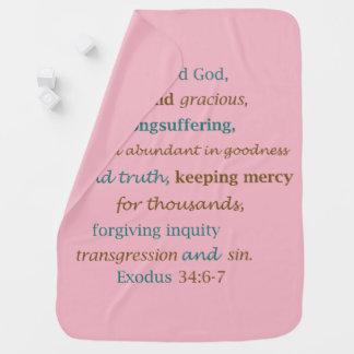 主Is Merciful Loving Forgivingの出国34 ベビー ブランケット