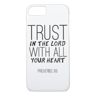 主With All Your HeartのiPhoneの場合で信頼して下さい iPhone 8/7ケース