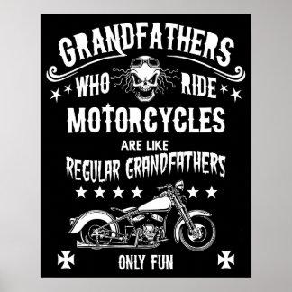 乗る祖父 ポスター