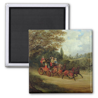 乗客(canvaが付いている王室のな郵便車の油 マグネット